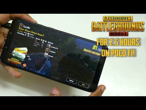 POCO F1- Playing PUBG for 2 hours & 30 mins! Overheating?