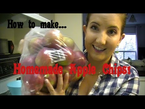 How to Make Homemade Apple Chips! Step by Step Tutorial