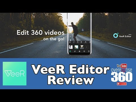 VeeR Editor App - Review in 360
