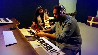Udhaya Udhaya song by Sarangi Manonmani and piano Yeshwanth