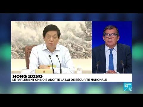 Hong Kong : le parlement chinois adopte la loi controversée sur la sécurité nationale