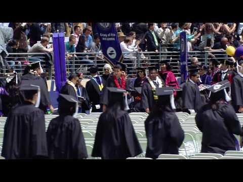 2016 University of Washington Commencement Ceremony
