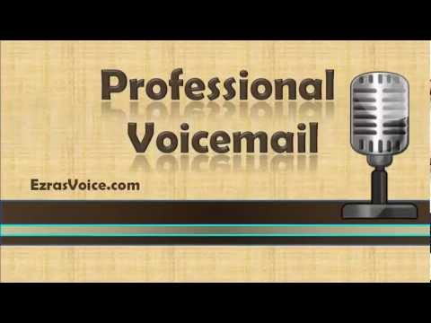 Professional Voicemail, Voicemail Greetings Examples, Professional Voicemail Greeting