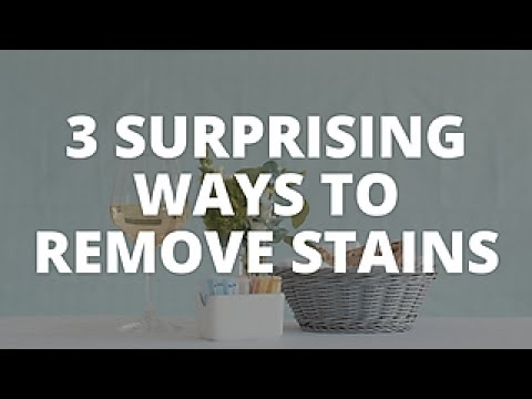 3 Ways to Remove Stains - Easy Does It - HGTV