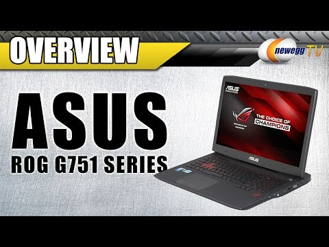 ASUS ROG G751 Series Gaming Laptop Overview - Newegg TV