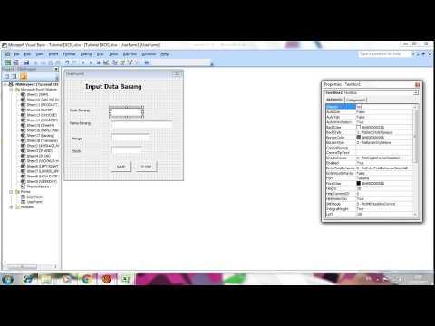 Tutorial Membuat VBA Macros di Excel 2007/2010 Lengkap