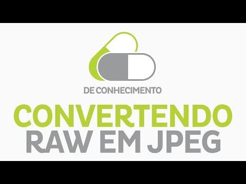 Transformando RAW para JPEG no Photoshop | Up We Go