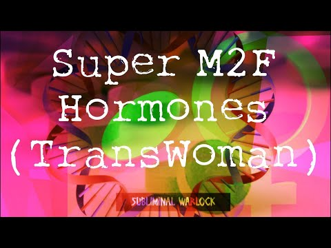 Essential M2F Hormones Trans Women HRT MTF Frequencies Hypnosis Rife Biokinesis Transgender Potion