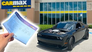 BROUGHT MY COPART REBUILT HELLCAT TO CARMAX AND THEY OFFERED ME A RIDICULOUS AMOUNT!