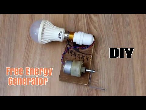 How to Make a Free Energy Generator  - Homemade