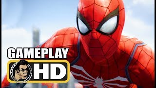 SPIDER-MAN Extended Gameplay Trailer (2018) Marvel PS4 Exclusive HD