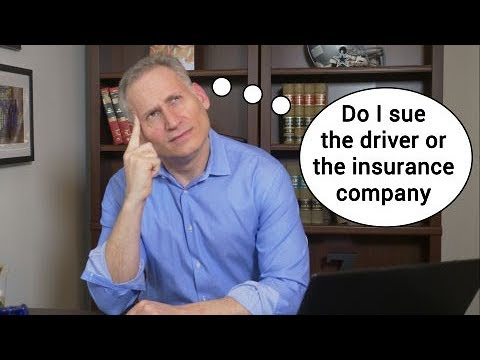 Can I sue the insurance company - Illinois injury lawyer
