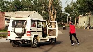 Bolero car stunt    by cool boy shub    beast bolero