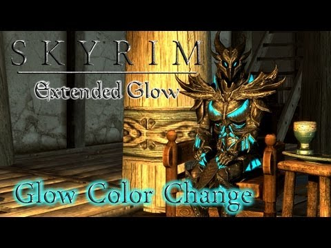 Skyrim Extended Glow: Glow Color Change
