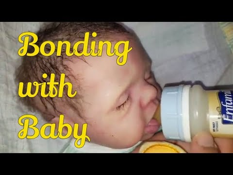 How I Bond With My Silicone Baby