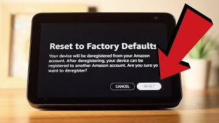 How to factory reset the Amazon Echo Show
