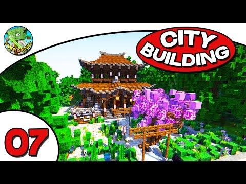 Minecraft City Building E07 - Japanese Temple