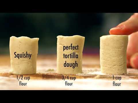Elastic Properties of Tortilla Dough