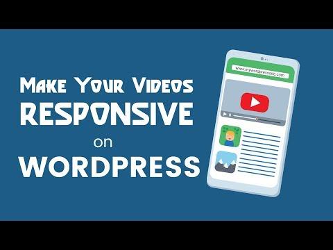 Responsive YouTube Videos in Your WordPress Blog Posts