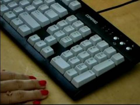 Computer Typing Lessons : Typing Numbers Using the Numeric Keypad