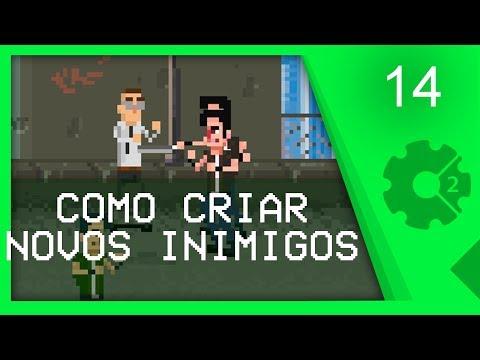 COMO CRIAR NOVOS INIMIGOS - Curso Beat'em Up / Brawler Aula 14 [CONSTRUCT 2]