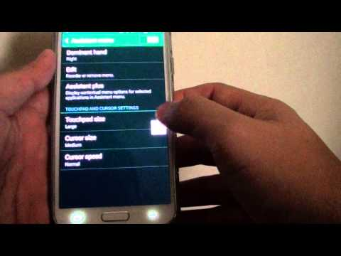 Samsung Galaxy S5: How to Capture Screen Shot With Screen Tap