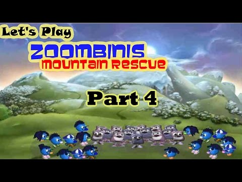 Let's Play Zoombinis Mountain Rescue Part 4 - I Think It's Getting Harder