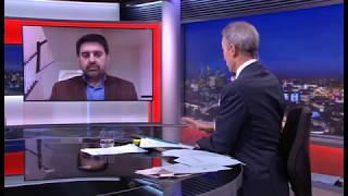 Kamran Bokhari talking to BBC World about KSA vs Iran in Lebanon