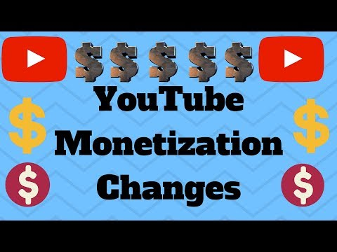 MAJOR YouTube Monetization Changes Affect Small Creators 2018