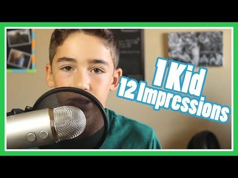 1 Kid, 12 Impressions