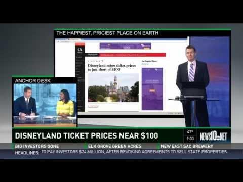 Disneyland raises prices again - cost of one ticket nears $100