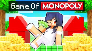 Being The RICHEST Girl In Minecraft MONOPOLY!