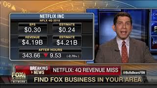 Netflix beats on subscriber growth, misses slightly on revenue