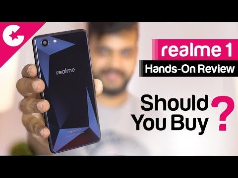 RealMe 1 Hands-On Review (Should You Buy?)