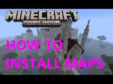 HOW TO INSTALL MAPS ON MINECRAFT PE 0.15.0 [ EASY ]