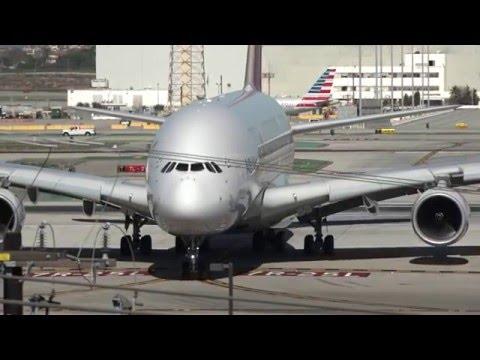Los Angeles Airport LAX spotting 2016