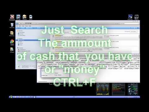 Farming Simulator 2013- Unlimited Money Cheat/Hack 100% Works