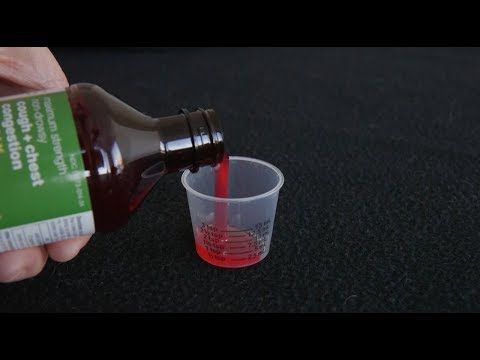 Cough medicine fails to treat flu related cough symptoms