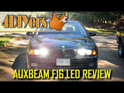 Review: Auxbeam F16 9005 LED Headlight Bulbs
