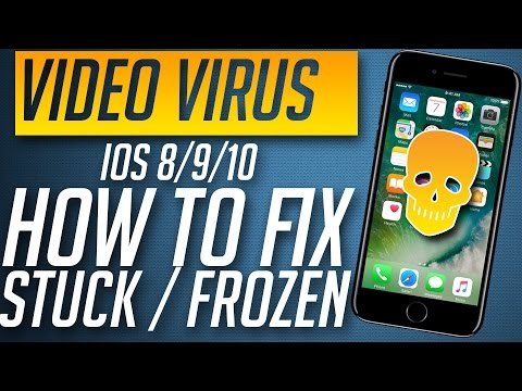 iPhone Video Link Virus / Prank - How to Fix Stuck / Frozen iPhone