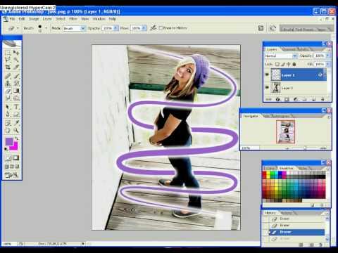 easy beams on photoshop cs2