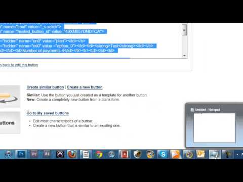 How To Create A Paypal Installment Plan Button
