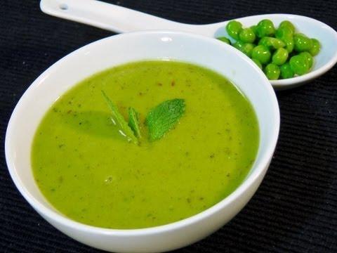Green Peas Soup - Healthy Recipe