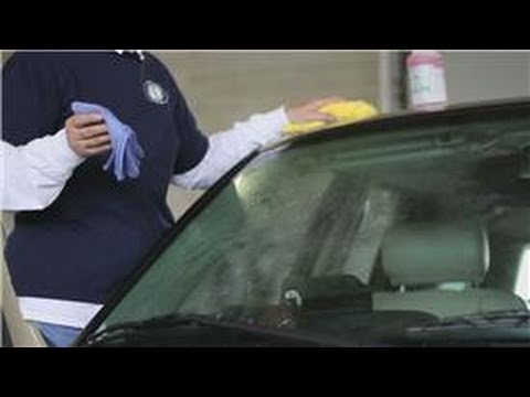 Auto Detailing : How To Remove Windshield Wiper Streaks