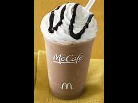 HOW TO: Make Iced Mocha Coffee McDonalds Recipe