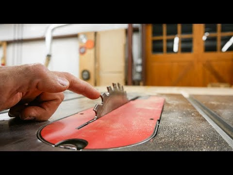 A Table Saw That Wont Cut Your Fingers Off!