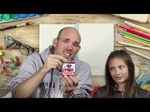 How to Make a VIP Badge for a Birthday Party -- Crafting with Carson
