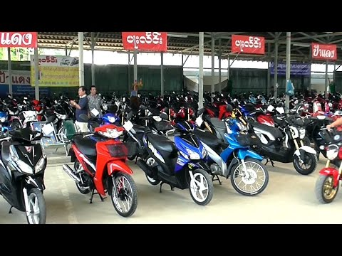 Chiang Mai's Second-hand Motorcycle Market