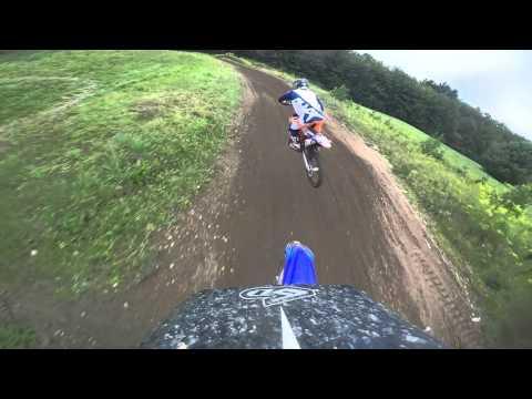 Thornwood Mx College Boy Moto 1 + crash  8/30/15