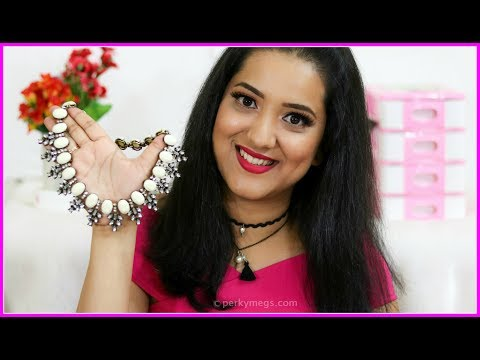 How to Style Statement Necklace with Western Wear | Jewellery Series 01 | Perkymegs